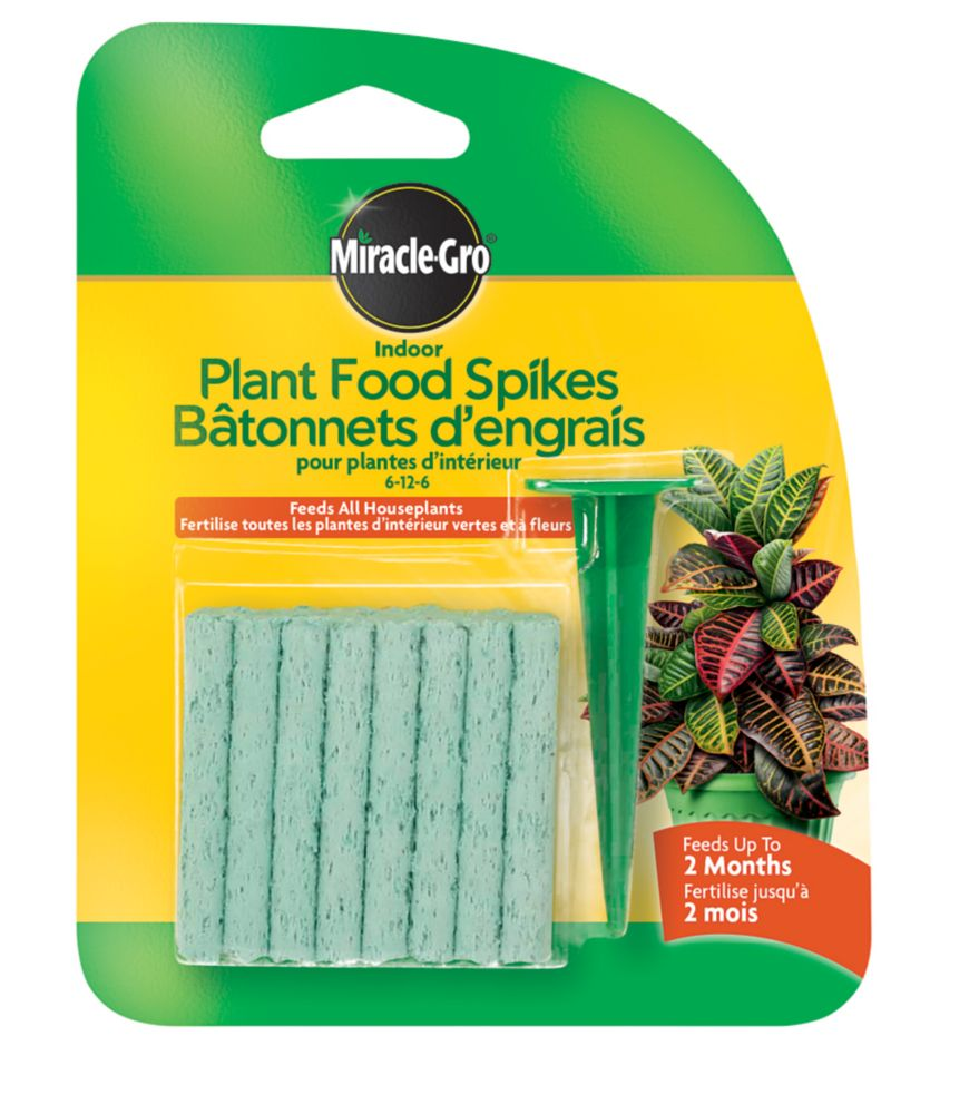 Miracle-Gro Houseplant Spikes 6-12-6