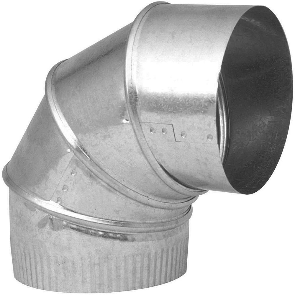 Imperial 6 Inch x 90 Degree Adjustable Elbow 30 gauge