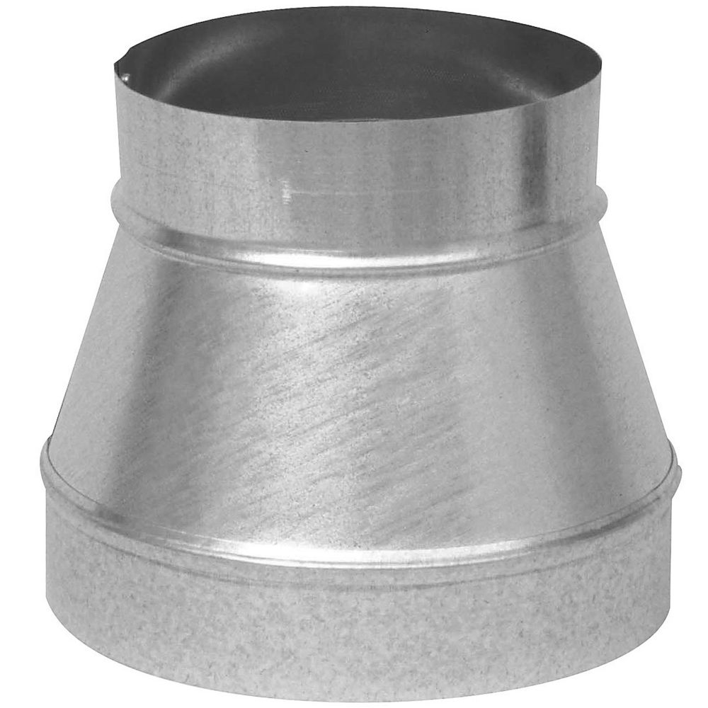 Imperial inch duct cap round no crimp the home depot