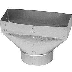 Imperial 3 1/4x10x6 Inch Universal Boot Straight