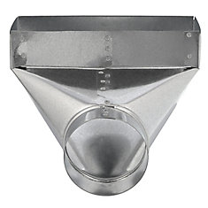 3 1/4x10x6 Inch Angle Boot 90 Degree