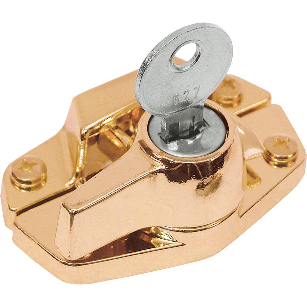 Brass Keyed Sash Lock