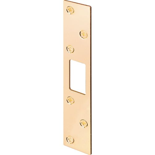 Prime-Line 1 1/8-inch x 6-inch Brass Security Strike