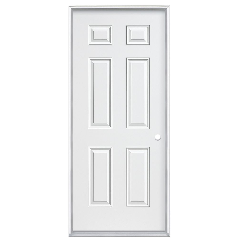 32 In. x 4-9/16 In. 6 Panel Primary Left Hand Door