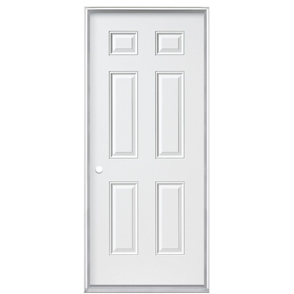 34-inch x 4 9/16-inch Primary 6 Panel Right Hand Door  sc 1 st  The Home Depot Canada & Entry Doors | The Home Depot Canada