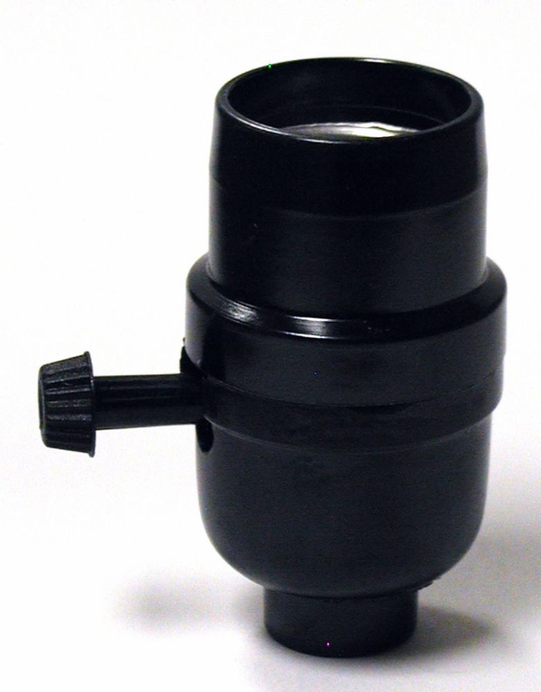 Socket Turnknob, Black