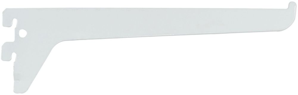 10 Inch White Single Track Bracket
