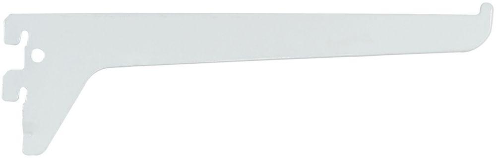 10 Inch White Single Track Bracket