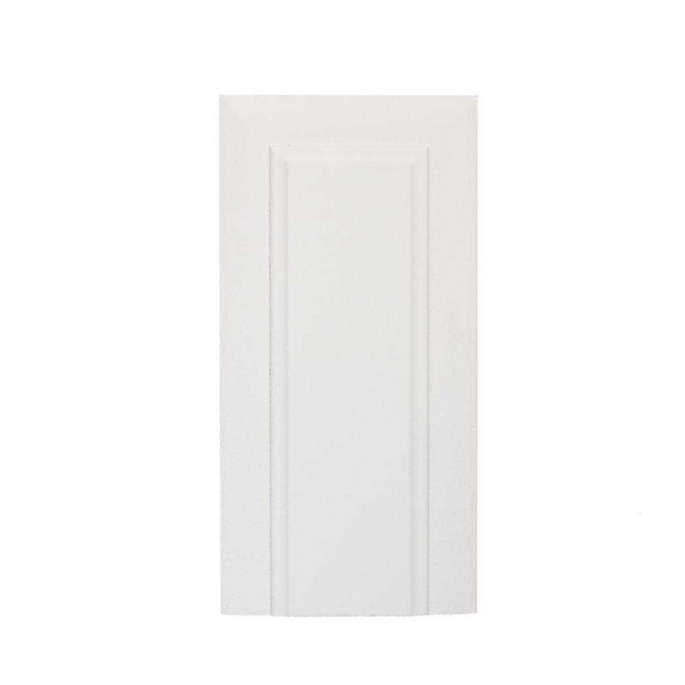 Primed Fibreboard Victorian Plinth Block 1 In. x 3 In. x 6 In.