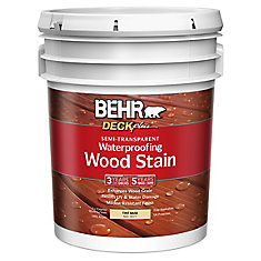 DECKplus Semi -Transparent Waterproofing Wood Stain - Tint Base No. 3077, 18.9 L