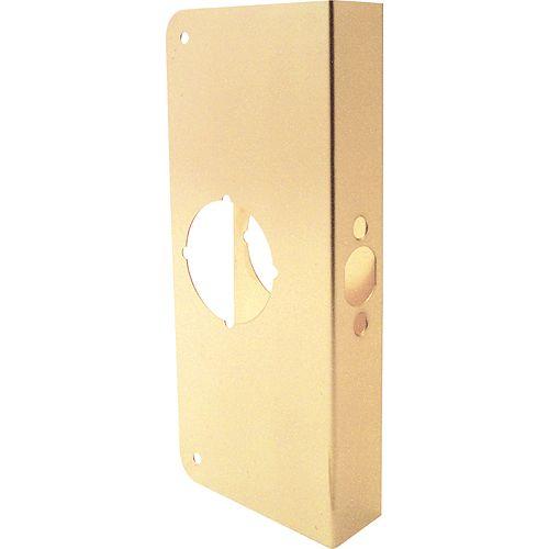Prime-Line 9-inch Brass Door Reinforcer