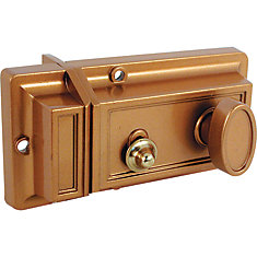 Night Latch and Locking Cylinder