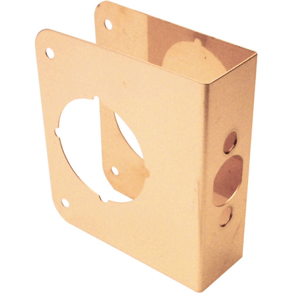 4-inch Brass Door Reinforcer