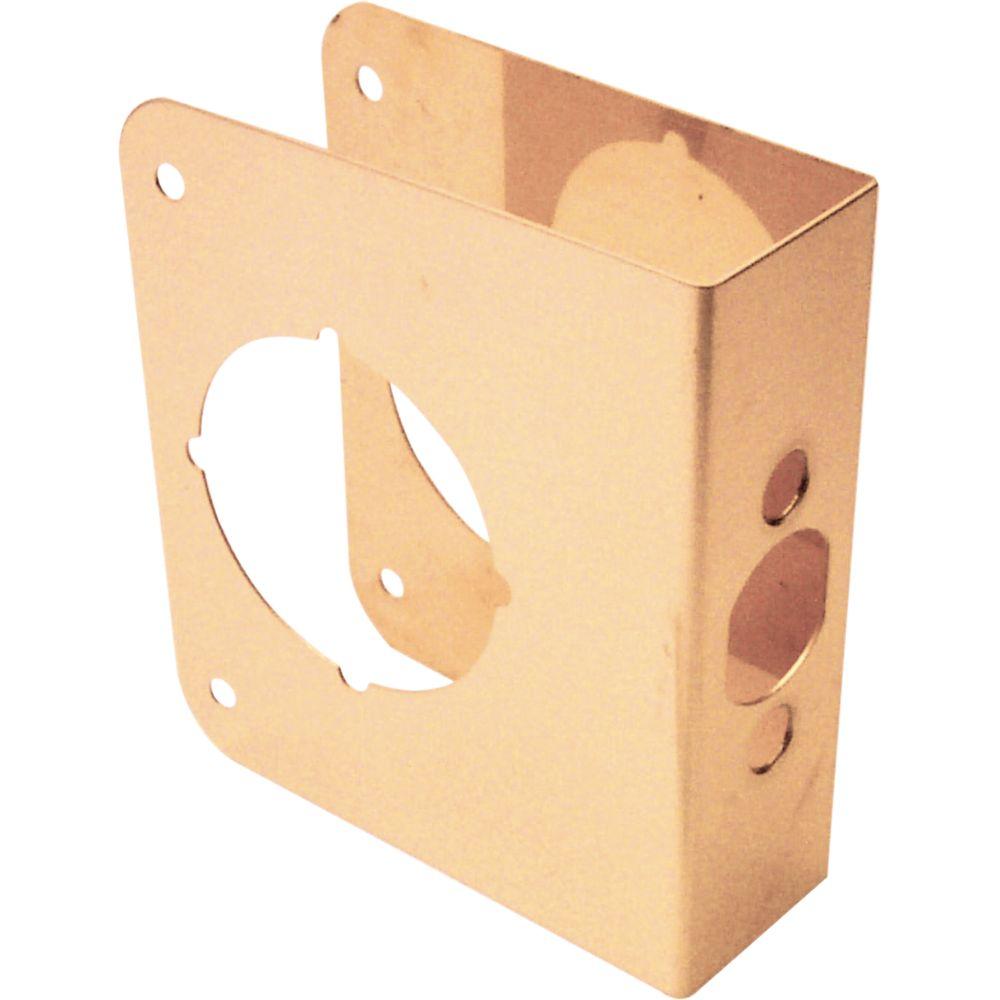 4 1/2-inch Brass Door Reinforcer
