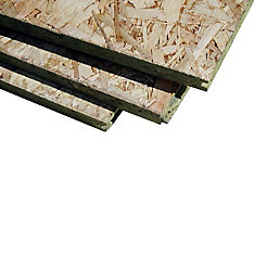 5/8 4x8 Oriented Strand Board Tongue and Groove 19/32