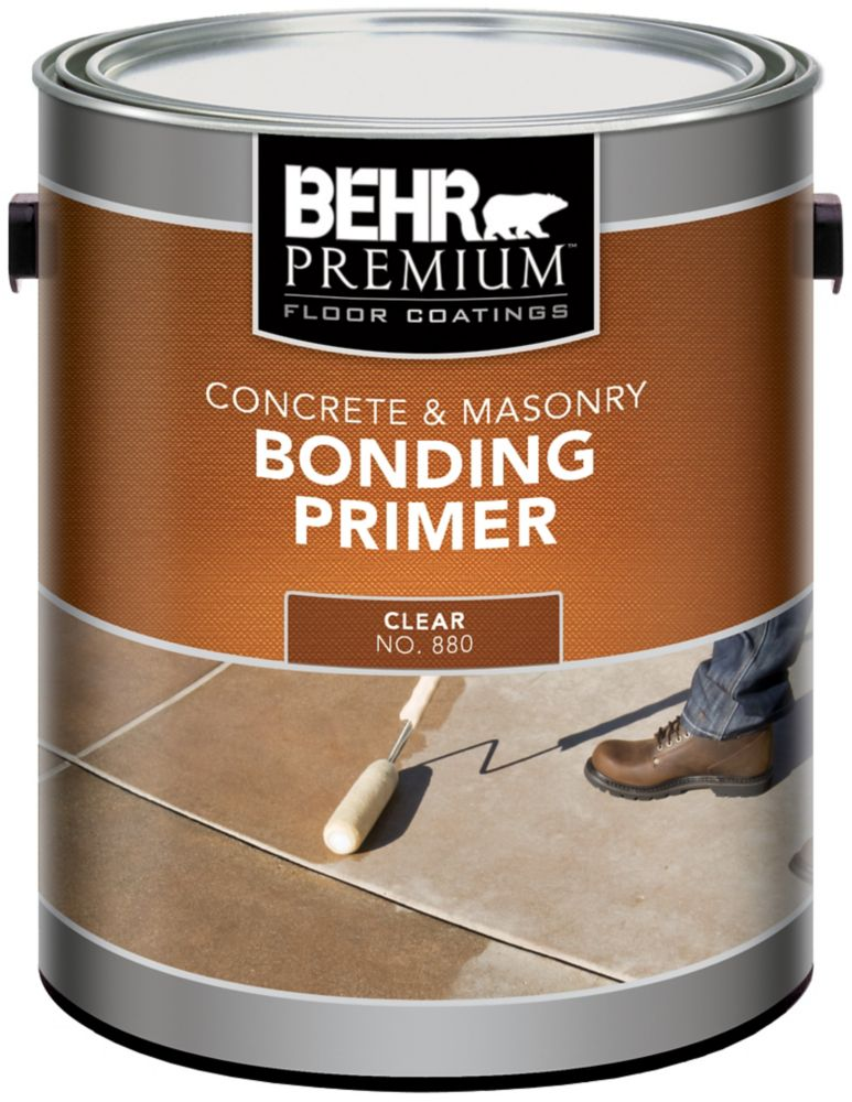 BEHR PREMIUM Floor Coatings Concrete & Masonry Bonding Primer, 3.79 L