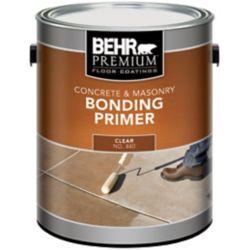 Behr Premium Plus BEHR Apprêt Liant Intérieur/Extérieur pour Béton & Maçonnerie, 3,79L