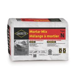 SAKRETE Mortar Mix, Type N, 30 KG