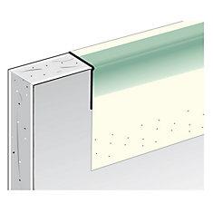 Renfort d'angle métallique à face de papier SHEETROCK B4 1/2po en L, 8pi