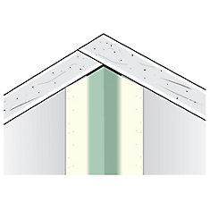 SHEETROCK Paper-Faced Metal Inside Corner Bead, B2 3/8 In. x 3/8 In. 90 degree, 8 Ft.