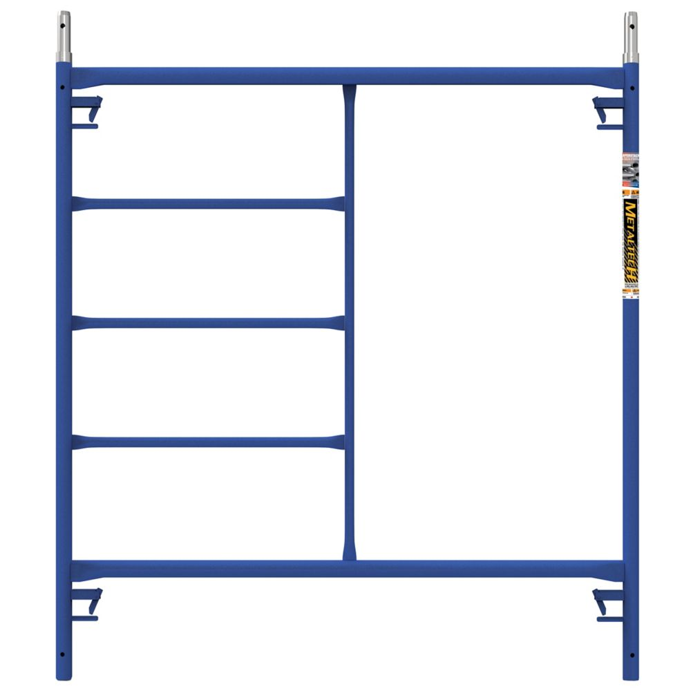 Metaltech SAFERSTACK Standard Mason Scaffold Frame 60 x 60 inches with Pins and Spring-Locks