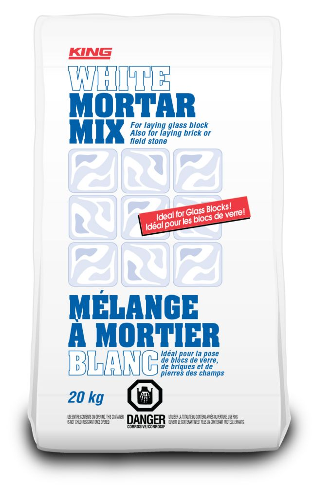 White Mortar Mix, 20 KG