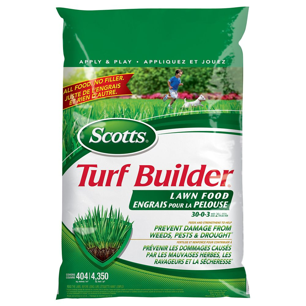 Scotts Turf Builder Lawn Fertilizer 30-0-3