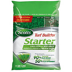 Turf Builder Starter Lawn Food for New Grass 24-25-4 (4.7kg)