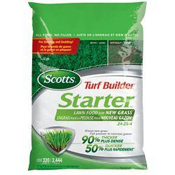 Scotts Turf Builder Starter Lawn Food for New Grass 24-25-4 (4.7kg)