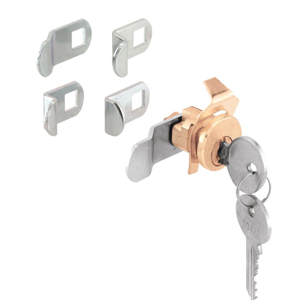 Brass 5 Cam Mailbox Lock