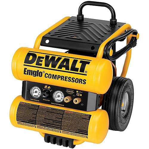 DEWALT 4-Gallon Electric Dolly Style Compressor