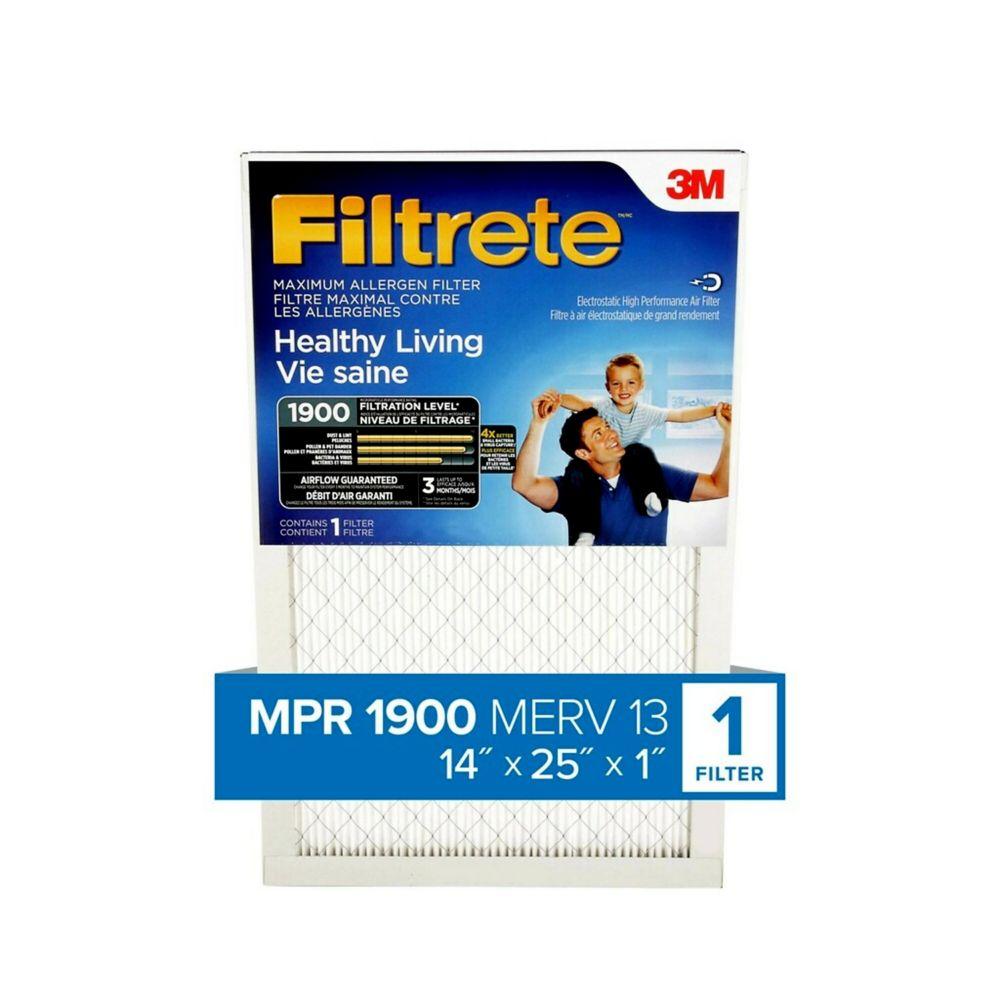 3M Filtrete 14x25 Ultimate Allergen Reduction Filter