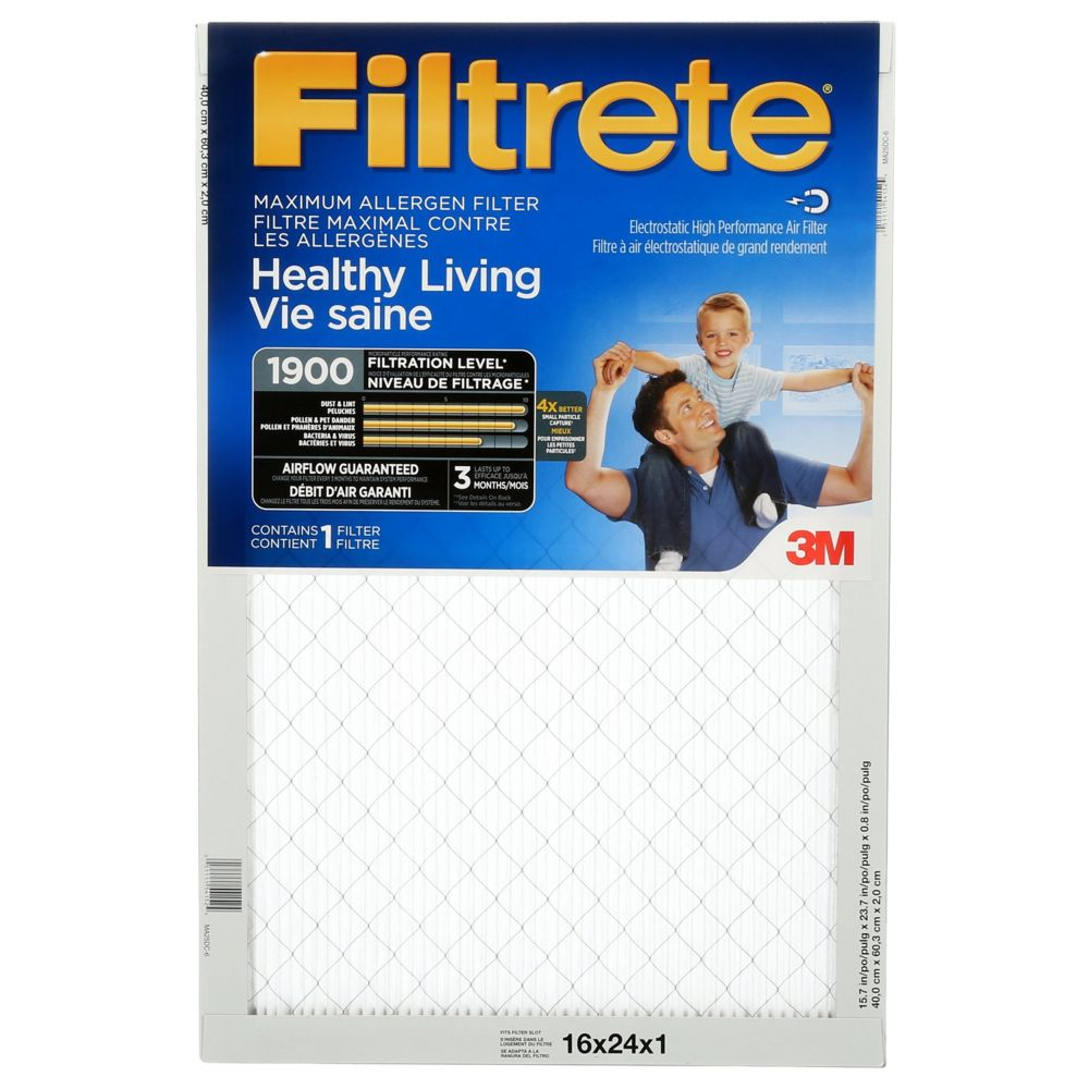 3M Filtrete 16x24 Ultimate Allergen Reduction Filter