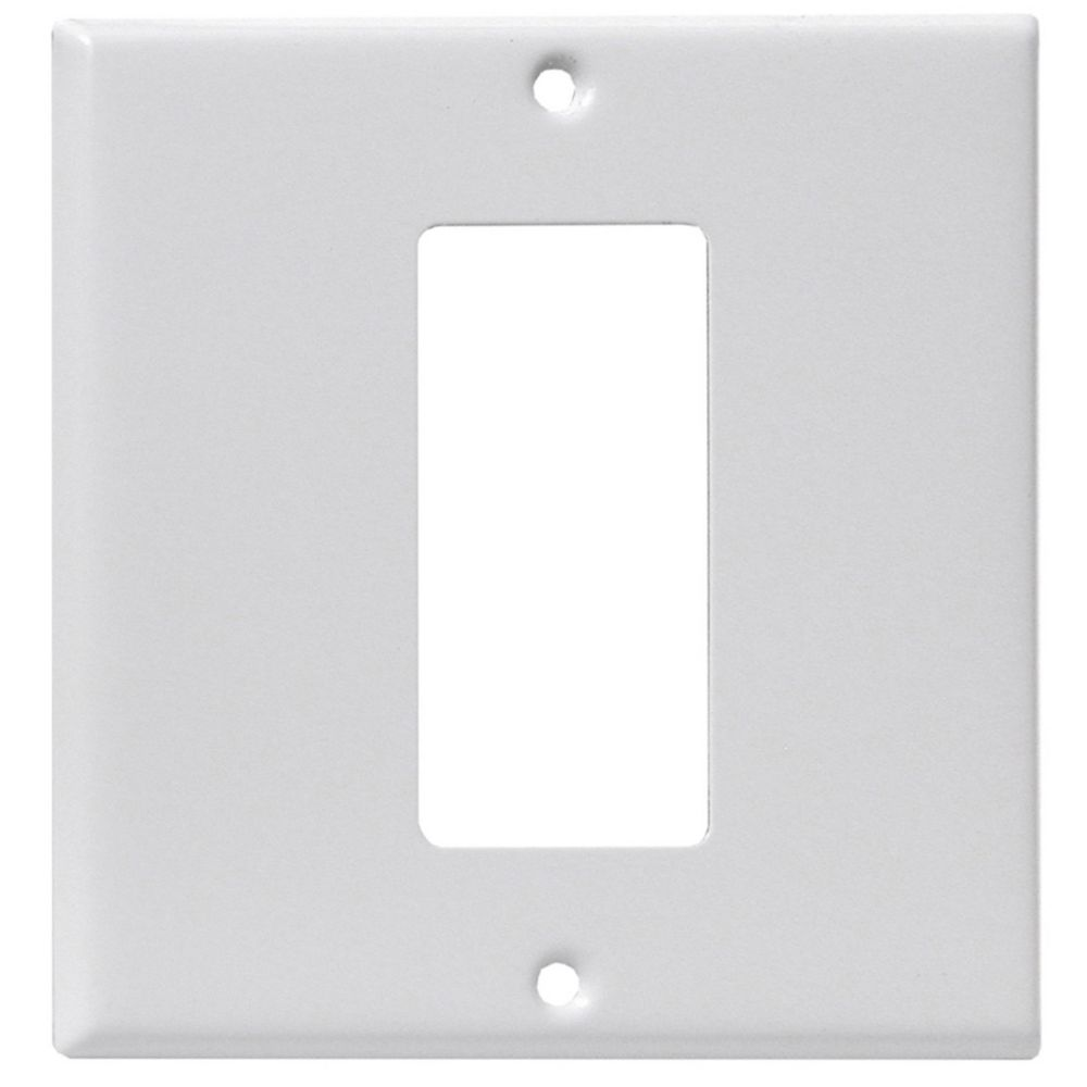 Back & Face Plate, White