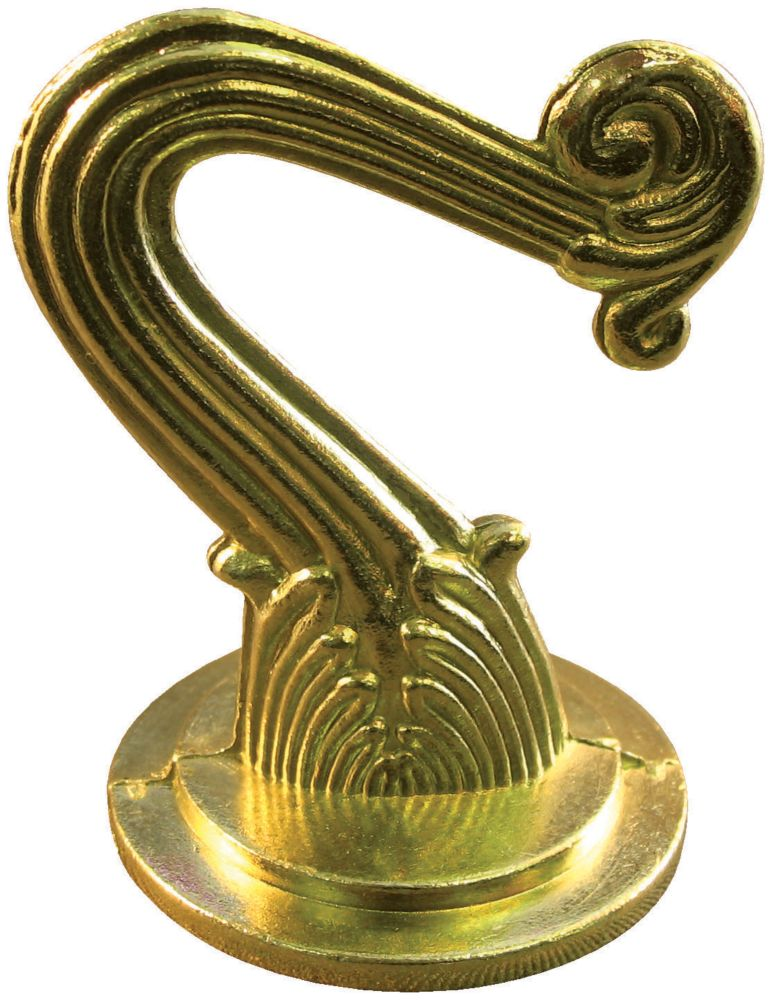 Ceiling Hooks Brass Plated