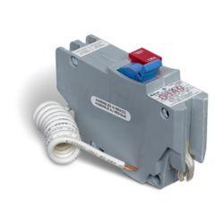 Schneider Electric Disjoncteur GFI enfichable Stab-lok  de 15A uniipolaire