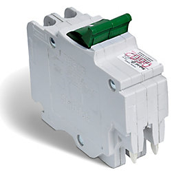 Schneider Electric Double Pole 30 Amp Stab-lok (NC) Plug-On Circuit Breaker