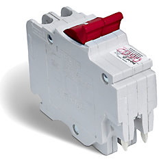 Double Pole 20 Amp Stab-lok (NC) Plug-On Circuit Breaker