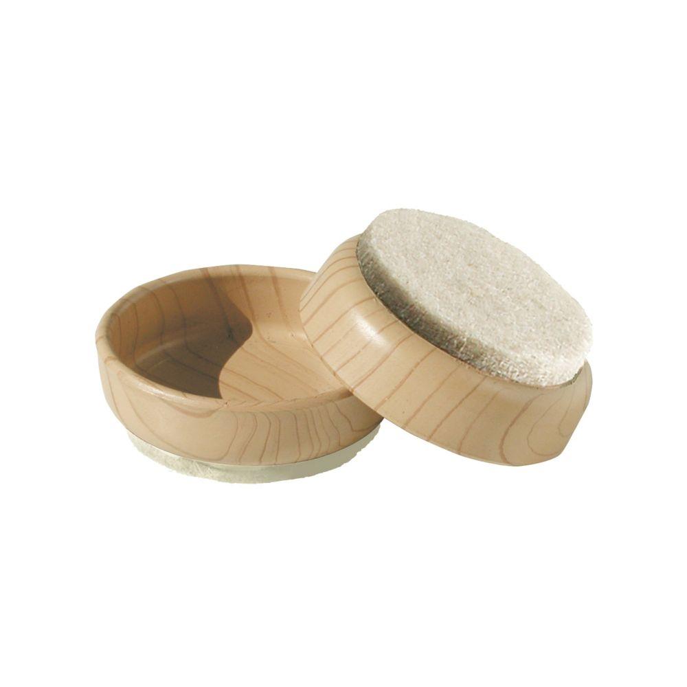 Coupelle simili bois 60mm