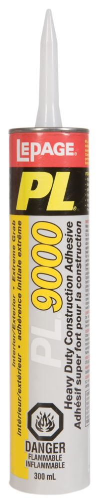 PL9000 Heavy Duty Construction Adhesive  (300ml)