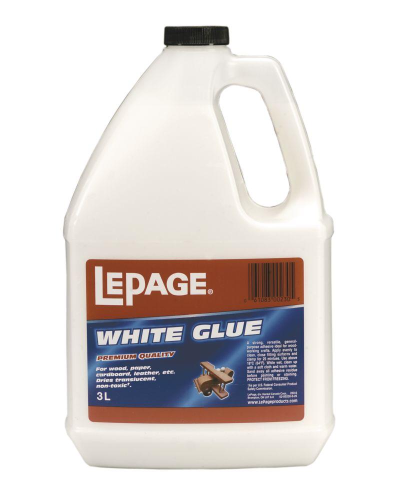 LePage<sup>®</sup> White Glue 3L