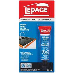 LePage Heavy Duty Contact Cement 30mL