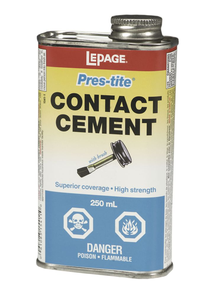 LePage<sup>®</sup> Pres-Tite<sup>®</sup> Colle Contact avec pinceau 250ml