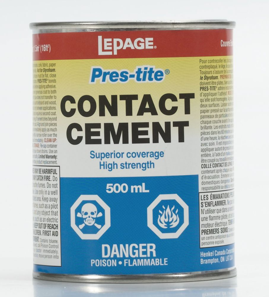 LePage<sup>®</sup> Pres-Tite<sup>®</sup> Contact Cement 500ml