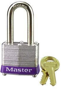 "1-1/2"" Laminated Padlock with 1-1/2"" Shackle"