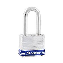 Master Lock Cadenas laminé 1 1/2 po avec anse 1 1/2 po