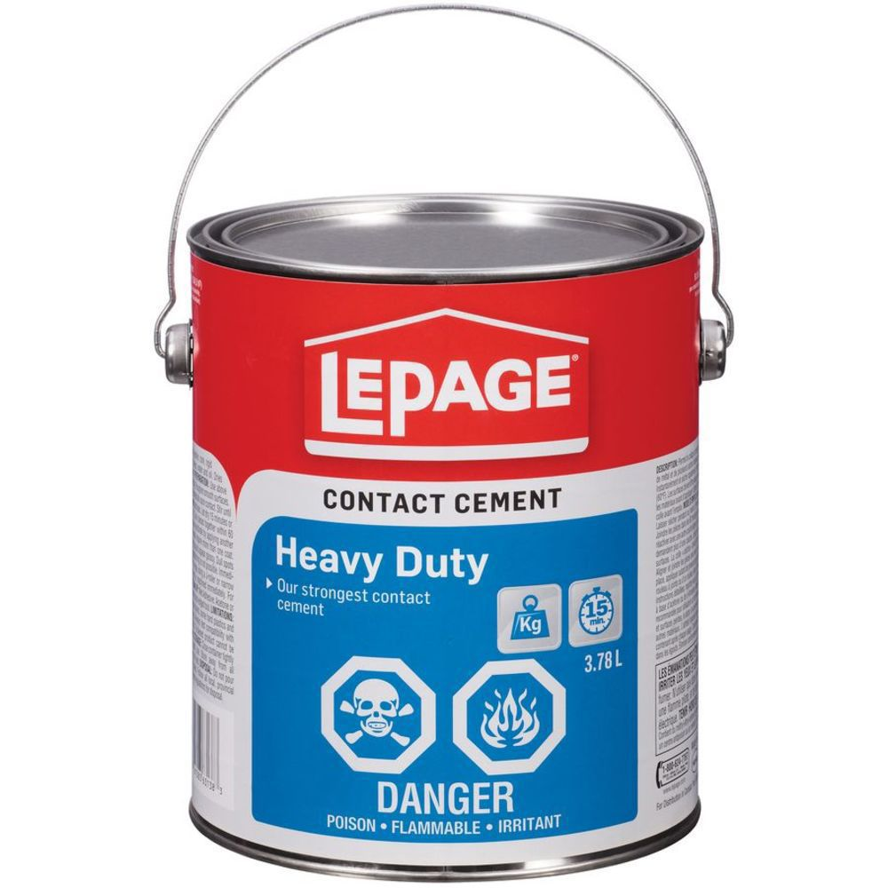LePage Heavy Duty Contact Cement 3.8mL