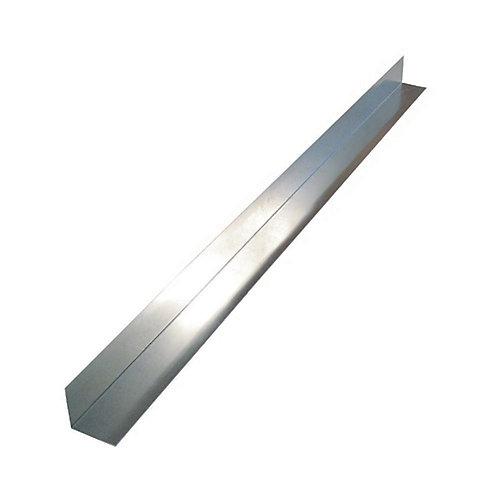 Flashing Angle, 2 inch x 2 inch x 10 feet - Mill Galvanized