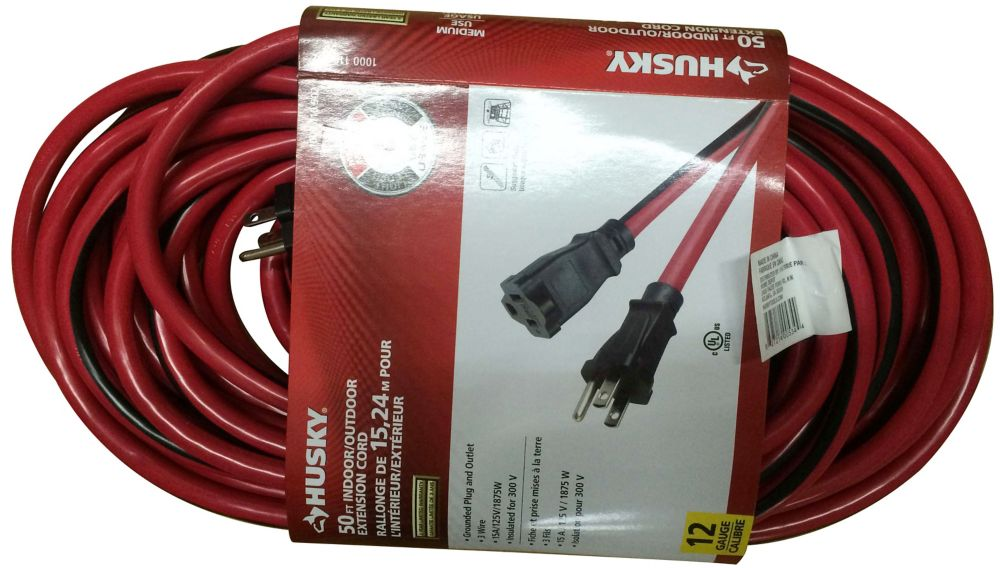 50 ft. 12-Gauge Outdoor Extension Cord
