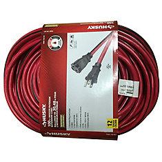 100 ft. 12-Gauge Indoor/Outdoor Extension Cord